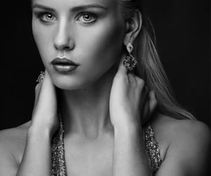 femme fatale, black and white b&w, and inspired inspiration image
