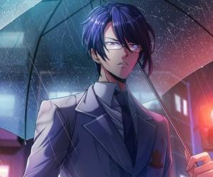 anime, rainy day, and bangdream image