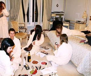 girls, party, and sleepover image