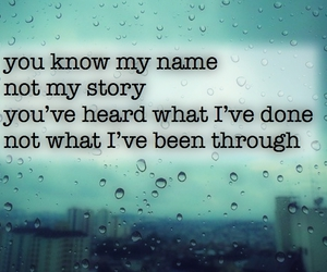 famous, rain, and quote image