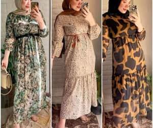 animal print dress image