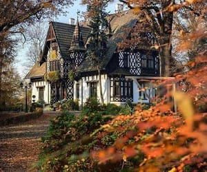 autumn, house, and nature image