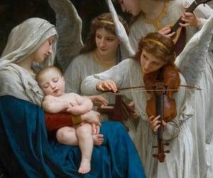 Catholic, hail mary, and pray for us image