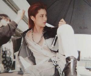 long hair, red hair, and cho seungyoun image