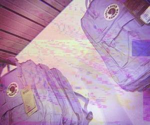 edited, purple, and theme image