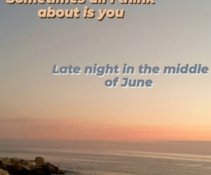 beach, Hot, and song image