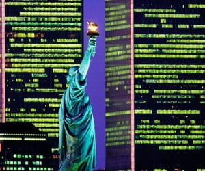 statue of liberty, 9 11, and new york image