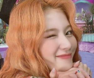 beautiful girl, orange hair, and pretty image