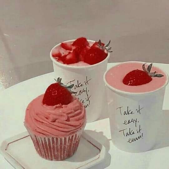 cupcakes, delicious, and pink image