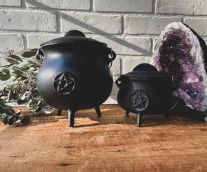 altar, amethyst, and cauldron image