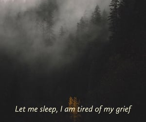 broken, grief, and tired image