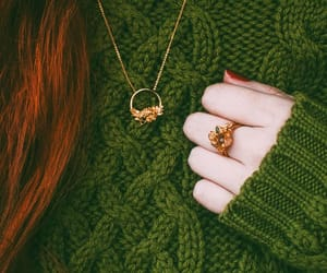 aesthetic, beautiful, and knitted sweater image
