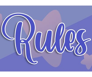 blue, rules, and discord image