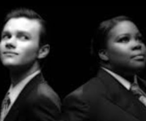funny faces, glee, and amber riley image