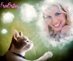 britney spears, edit, and free britney movement image