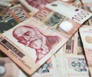 balkan, money, and Serbia image