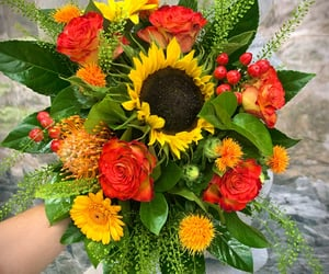 automne, Jaune, and fleuriste image
