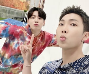 rm, bts, and jungkook image
