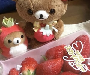 bear, red, and berries image