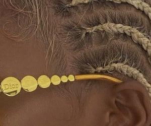 black women, blonde, and blonde hair image