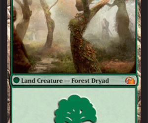 dryad, forest, and Magic The Gathering image