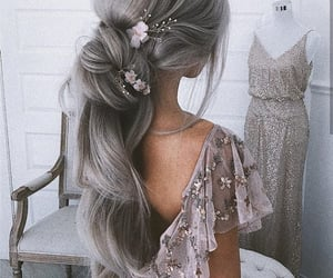 beautiful, braid, and clothes image