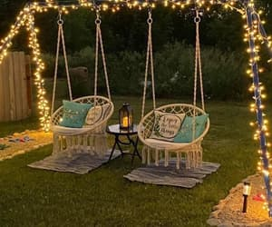 swing, chilling, and lights image