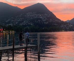 lake, vibes, and lights image
