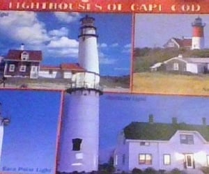 postcards and lighthouses image