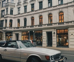 beige, vintage, and city vibes image