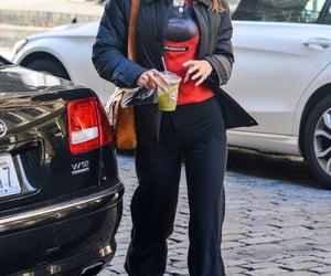 red sweater, fashionista fashionable, and bella hadid image