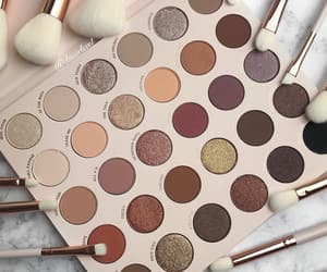 palette, eyeshadow, and makeup image