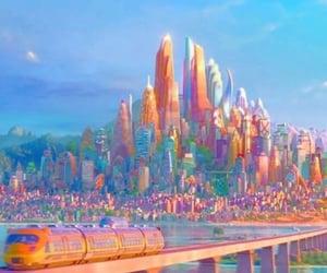 cities, zootopia, and disney image