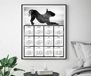 etsy, dog art print, and christmas gift image