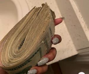 fashion, money, and money flip image