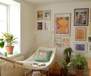 apartment, art, and cozy image