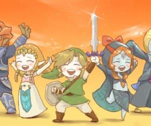 ganondorf, Legend of Zelda, and link image