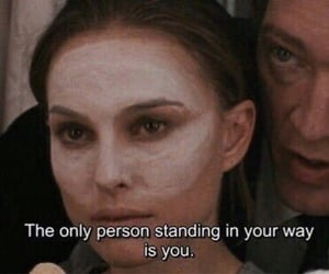 stand in your way, you, and only person image