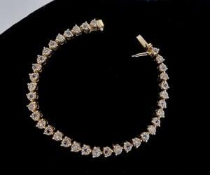 etsy, tennis bracelet, and estate jewelry image