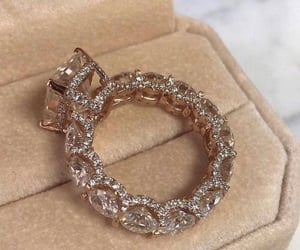 ring, diamonds, and jewelry image