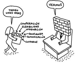 comunicacion, trabajo, and viñetas image