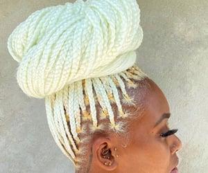 Afro, melanin, and aesthetic image