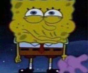 kiss, meme, and spongebob image