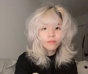 alternative, asian, and blonde image