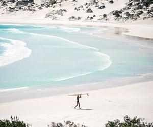 adelaide, australia, and beach image