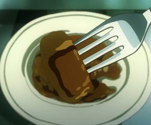 anime, food, and plate image