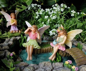 aesthetic, fairy, and fairycore image