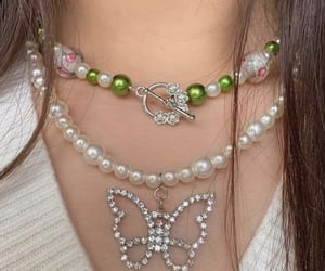 aesthetic and necklace image
