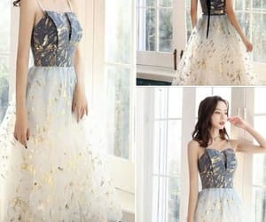dress, party dress, and prom dress image
