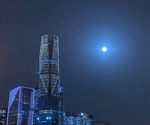 arab, city, and moon image